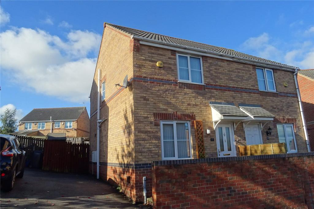 2 Bedrooms Semi Detached House for sale in Raikes Avenue, Bradford, West Yorkshire, BD4