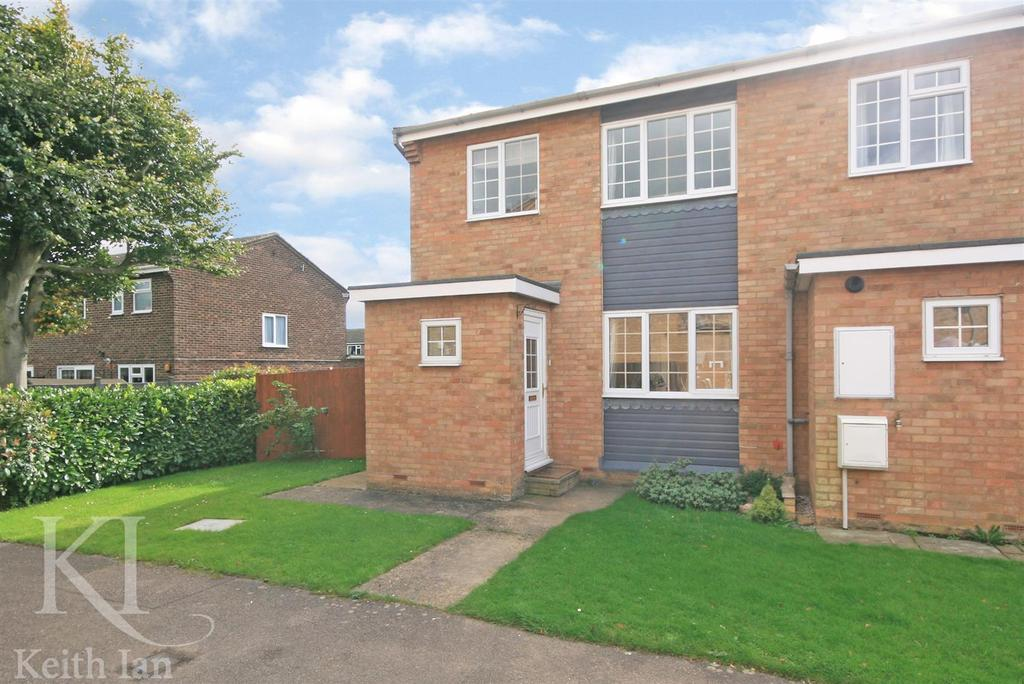 3 Bedrooms End Of Terrace House for sale in Scope to extend, Batchelors, Puckeridge