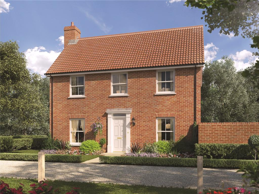3 Bedrooms Detached House for sale in The Pines, Ashe Road, Tunstall, Woodbridge, IP12