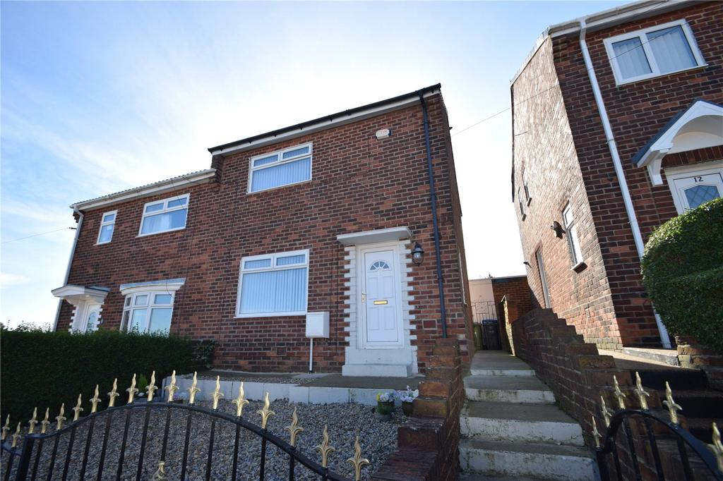 2 Bedrooms Semi Detached House for sale in Wellfield Road, Murton, Seaham, Co.Durham, SR7