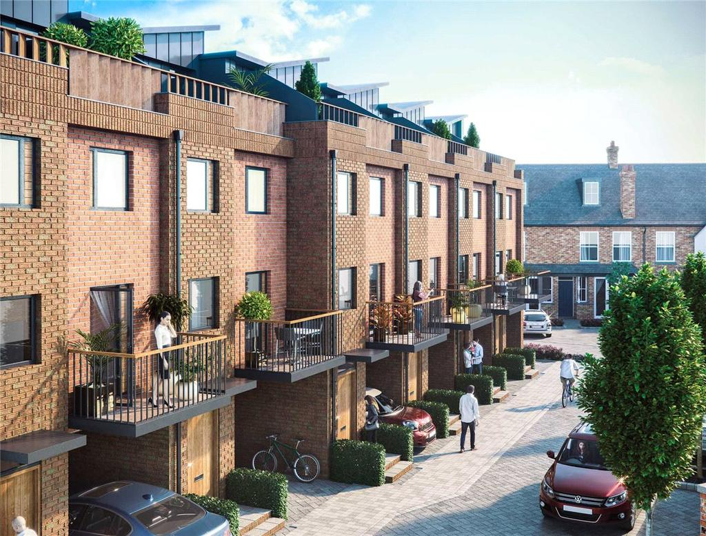 3 Bedrooms End Of Terrace House for sale in 6 Nelson's Yard, Walmgate, York, YO1