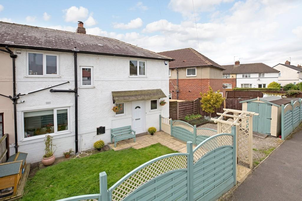 3 Bedrooms Semi Detached House for sale in The Crossways, Otley