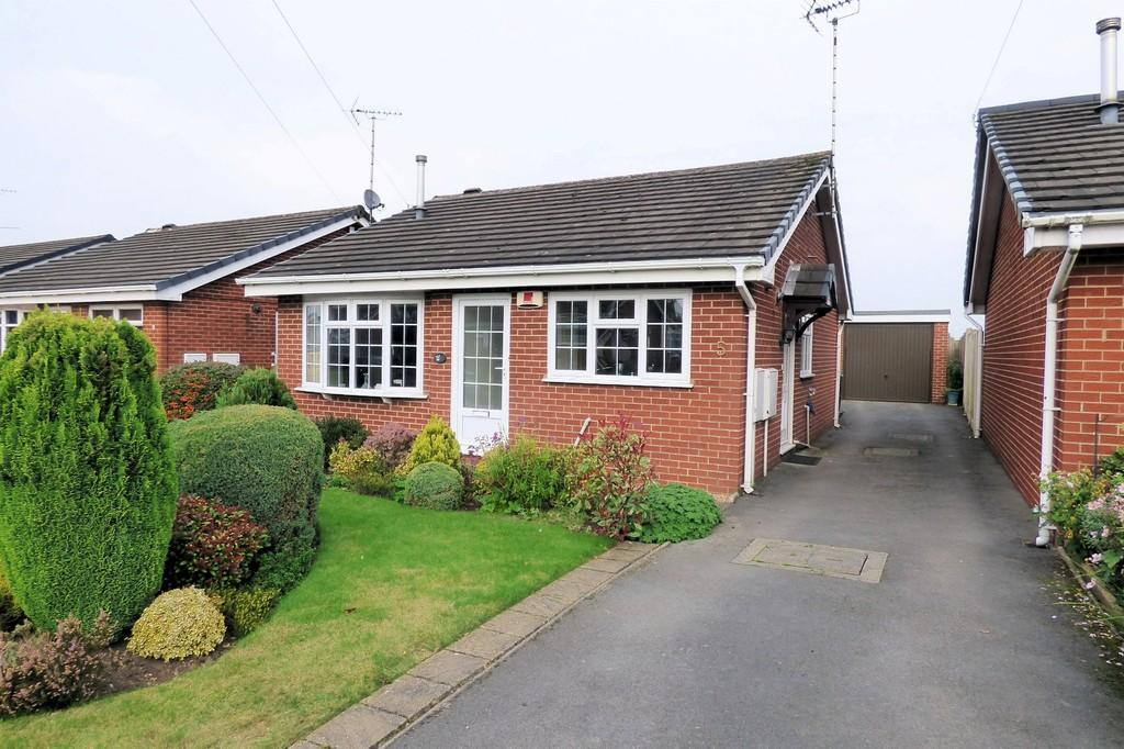 2 Bedrooms Detached Bungalow for sale in Byrds Close, Uttoxeter