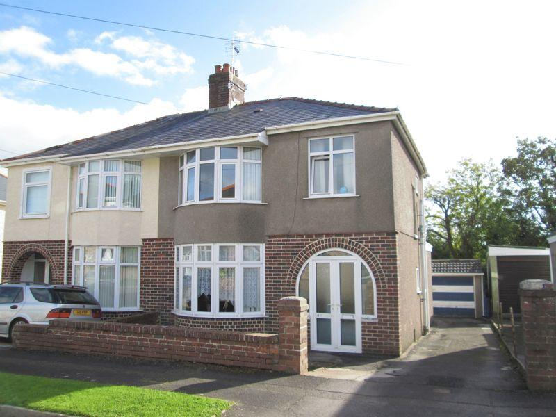 3 Bedrooms Semi Detached House for sale in Priory Avenue Bridgend CF31 3LR