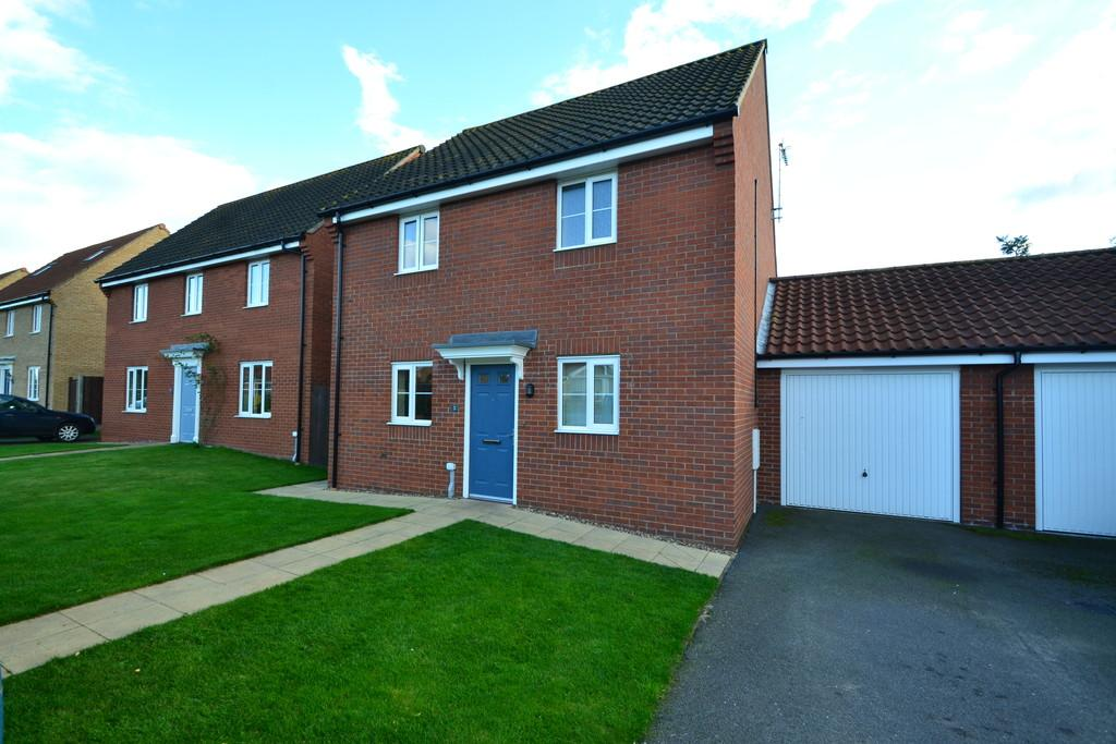 3 Bedrooms Link Detached House for sale in Fred Tuddenham Drive, Cawston