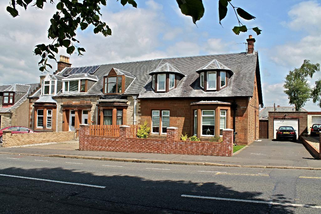 3 Bedrooms Semi Detached House for sale in Glaisnock Street, Cumnock, East Ayrshire, KA18 1JT