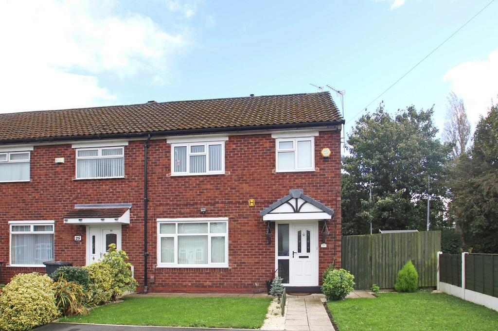 3 Bedrooms End Of Terrace House for sale in Trippier Road, Eccles, Manchester, M30
