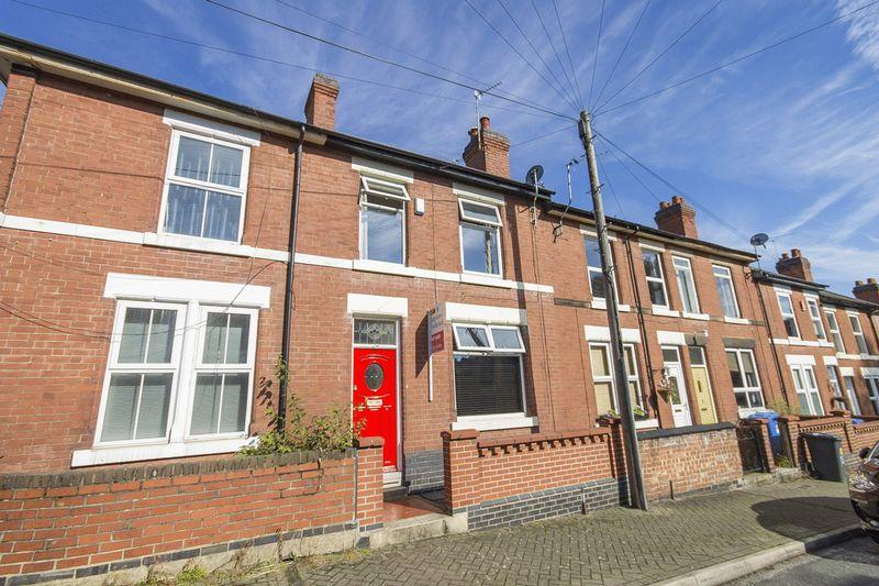 3 Bedrooms Terraced House for sale in Crown Street, Derby