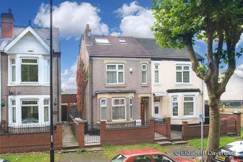 4 Bedrooms Semi Detached House for sale in Lythalls Lane, Holbrooks