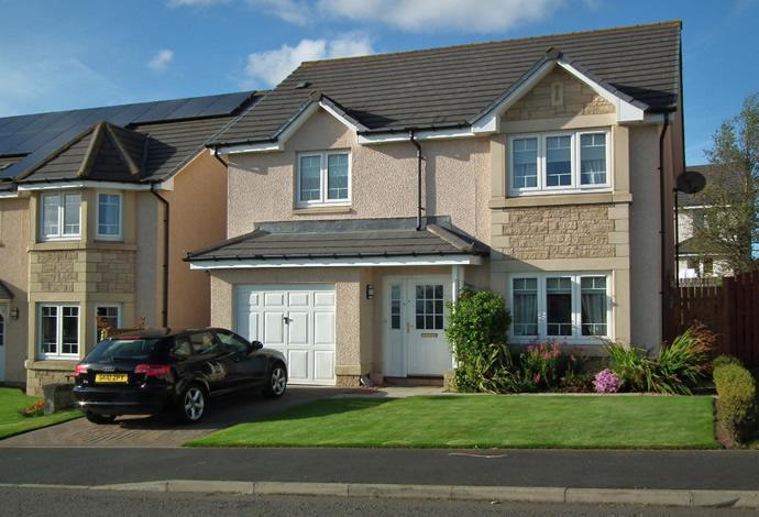 4 Bedrooms Detached House for sale in 5 Swan Avenue, Chirnside, TD11 3TE