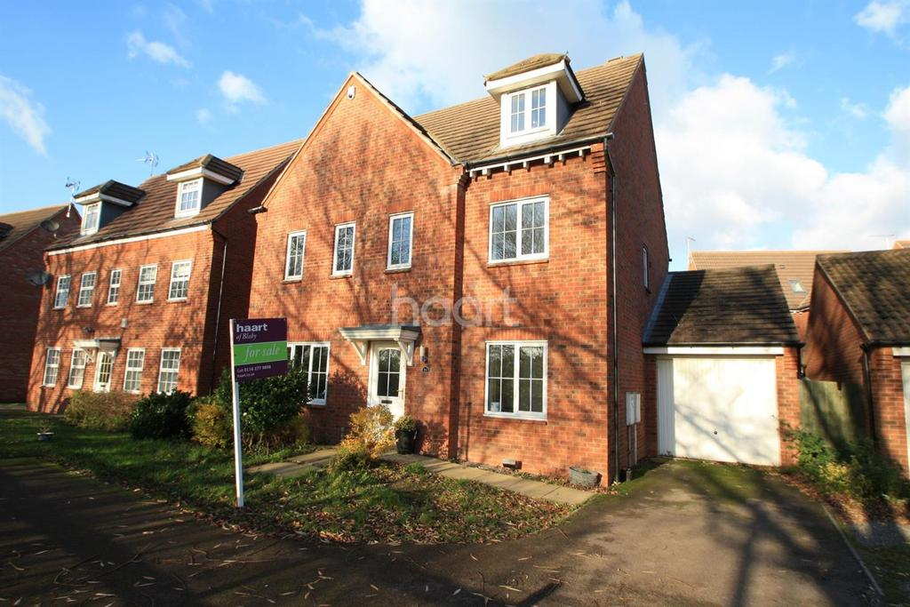 6 Bedrooms Detached House for sale in Lockside Close, Glen Parva, Leicester