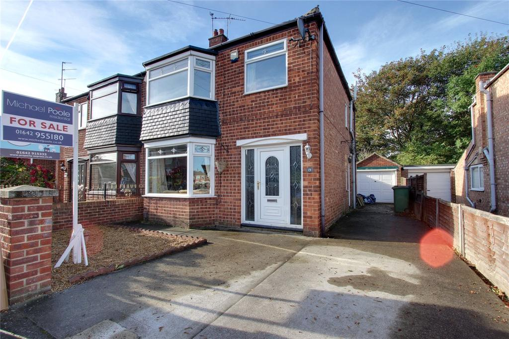 3 Bedrooms Semi Detached House for sale in Blantyre Road, Normanby
