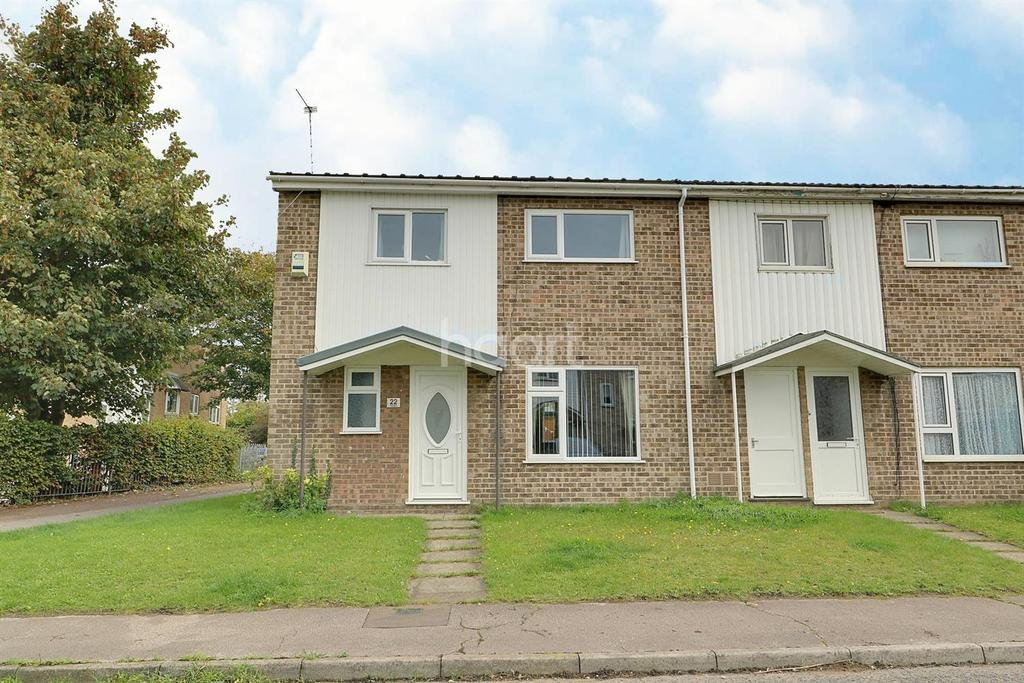 3 Bedrooms End Of Terrace House for sale in Hardy Close, Lowestoft