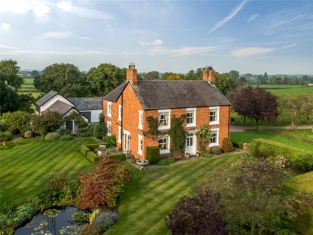 4 Bedrooms Detached House for sale in Little Green, Bronington, Whitchurch, Shropshire