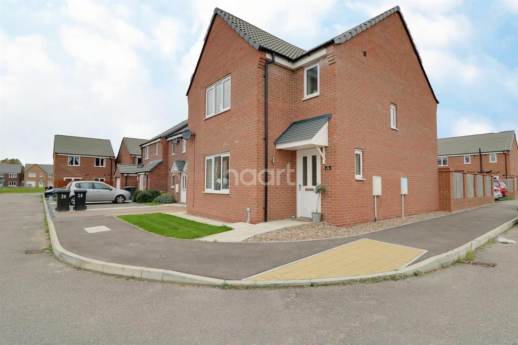 3 Bedrooms Detached House for sale in Crucible Close, North Hykeham