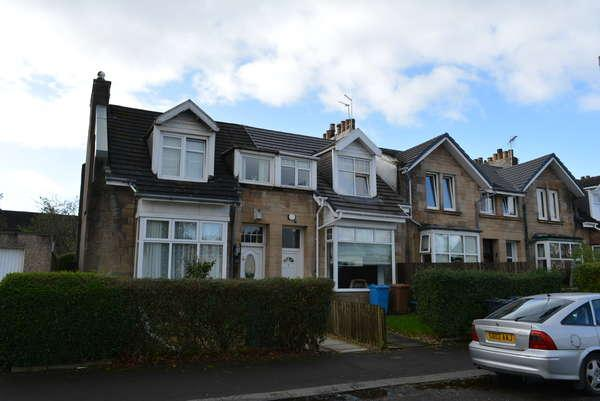 3 Bedrooms End Of Terrace House for sale in 49 Marchfield Avenue, Paisley, PA3 2QE