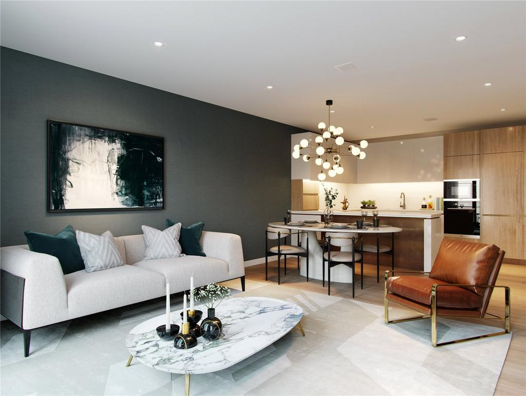 2 Bedrooms Flat for sale in Lyons Place, Marylebone, London