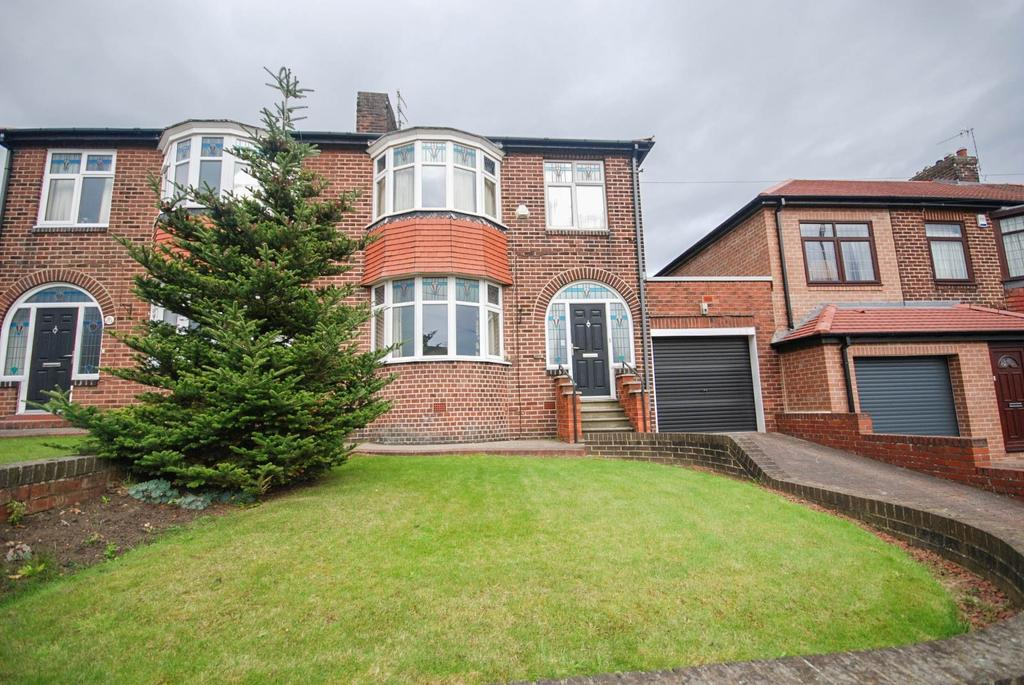 3 Bedrooms Semi Detached House for sale in Lobley Hill Road, Lobley Hill