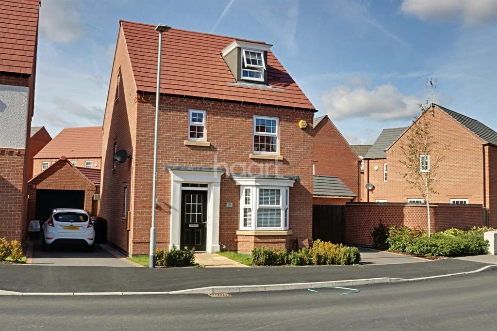 4 Bedrooms Detached House for sale in Paulina Avenue, Hucknall