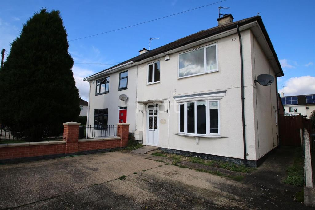 4 Bedrooms Semi Detached House for sale in The Slade Greens, Leicester