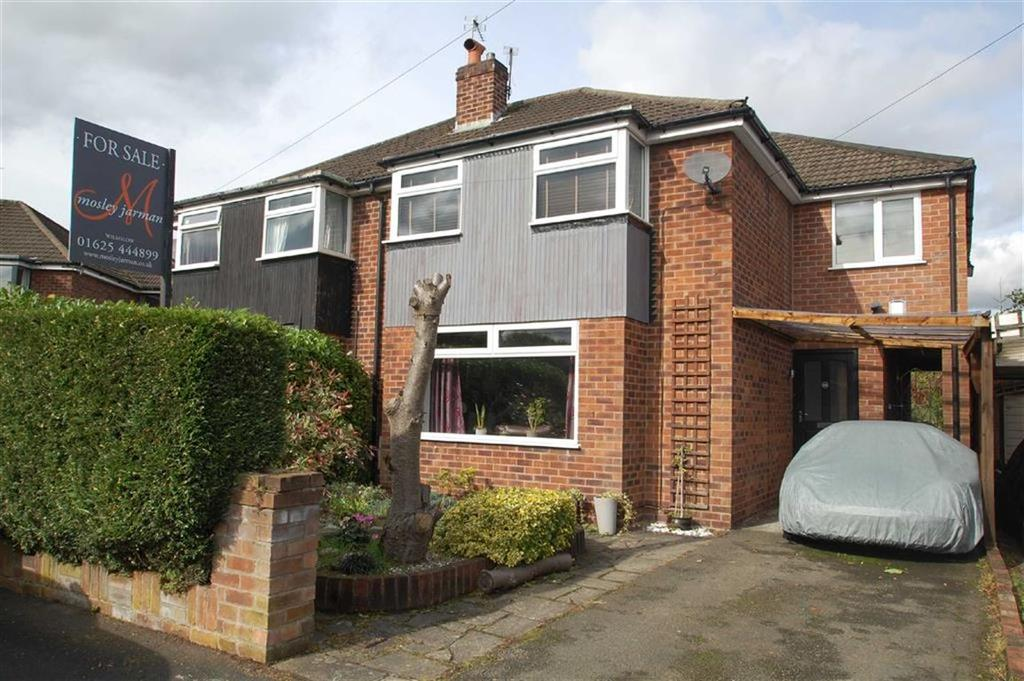 3 Bedrooms Semi Detached House for sale in Wingfield Avenue, Wilmslow, Cheshire