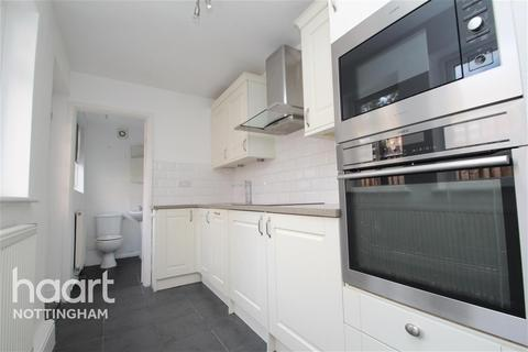 2 bedroom end of terrace house to rent - Clumber Road, NG2