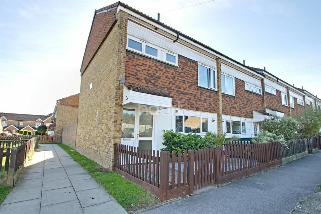 3 Bedrooms End Of Terrace House for sale in Lodge Hill Lane, Chattenden, Rochester, ME3