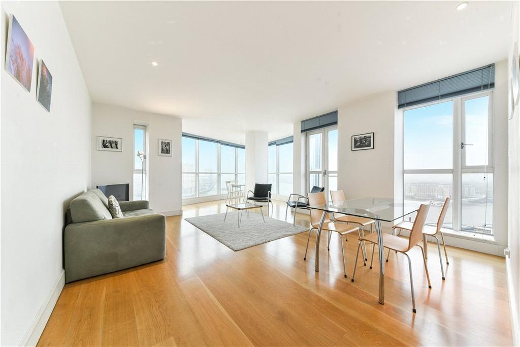 2 Bedrooms Flat for sale in Berkeley Tower, 48 Westferry Circus, Nr Canary Wharf, London, E14
