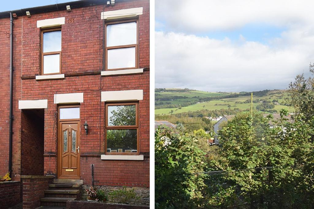 3 Bedrooms Terraced House for sale in Railway Terrace, Disley, Stockport