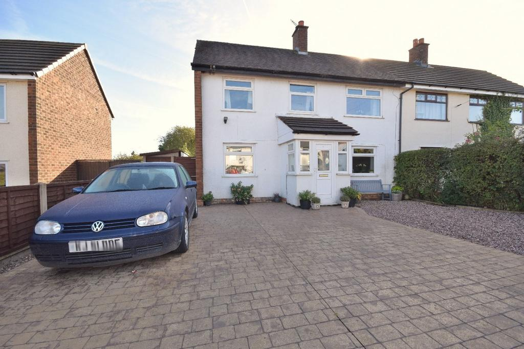 2 Bedrooms Semi Detached House for sale in Merton Road, Poynton
