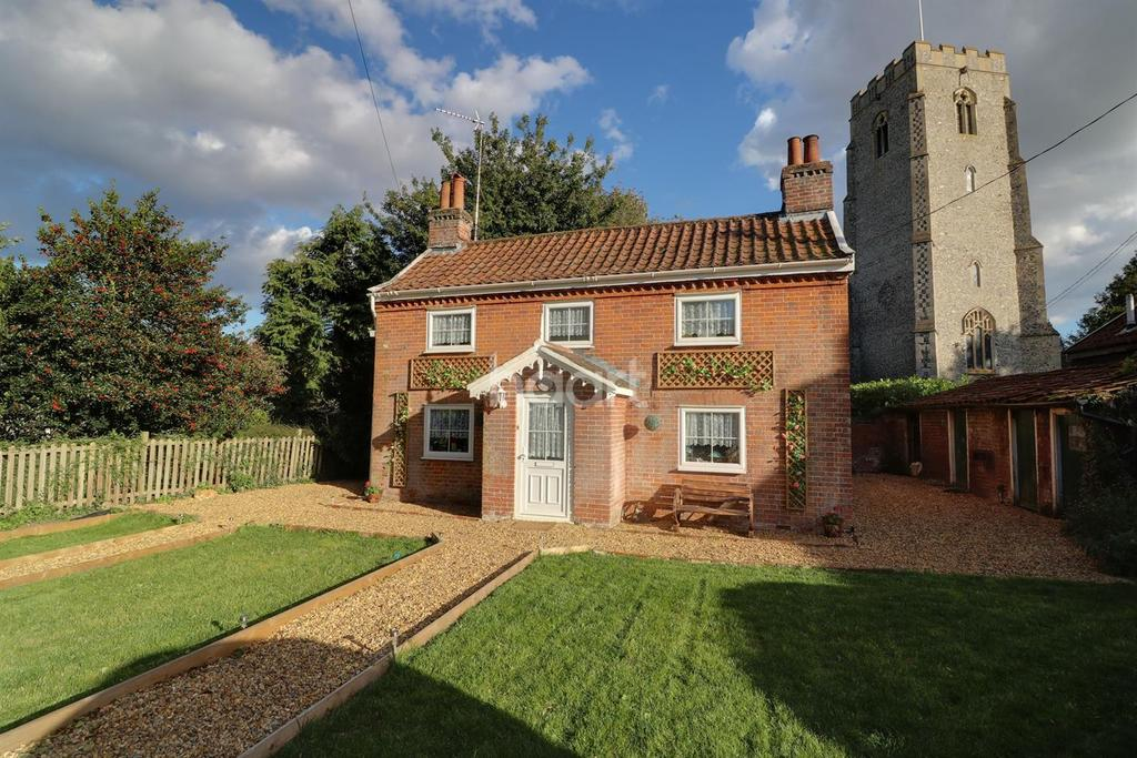 3 Bedrooms Detached House for sale in Church Street, Worlingworth, Woodbridge