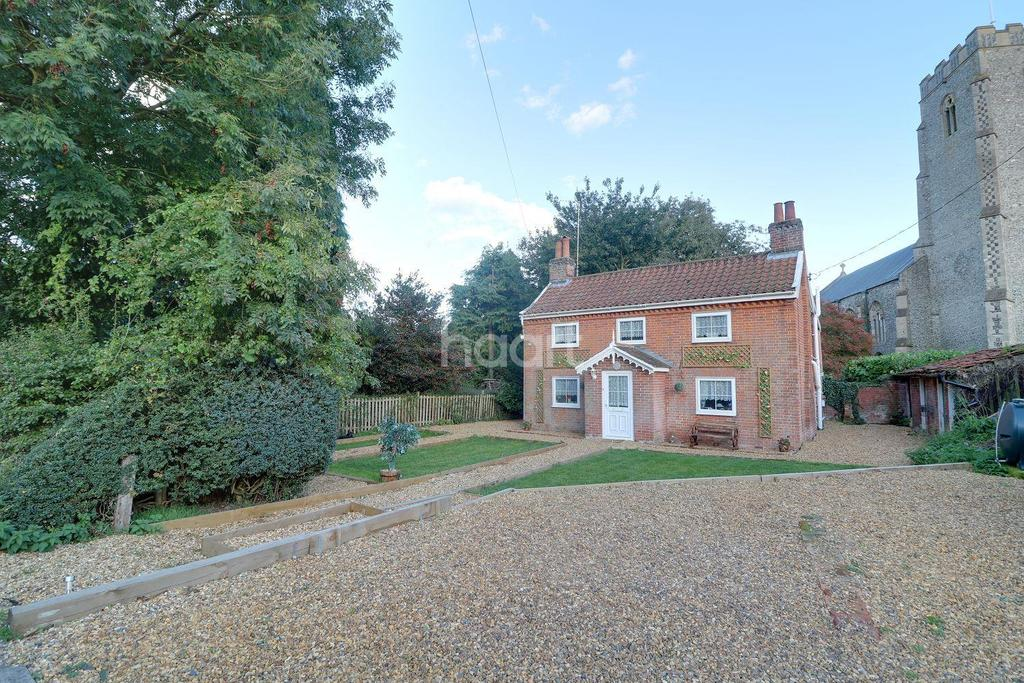 3 Bedrooms Detached House for sale in Church Street, Worlingworth