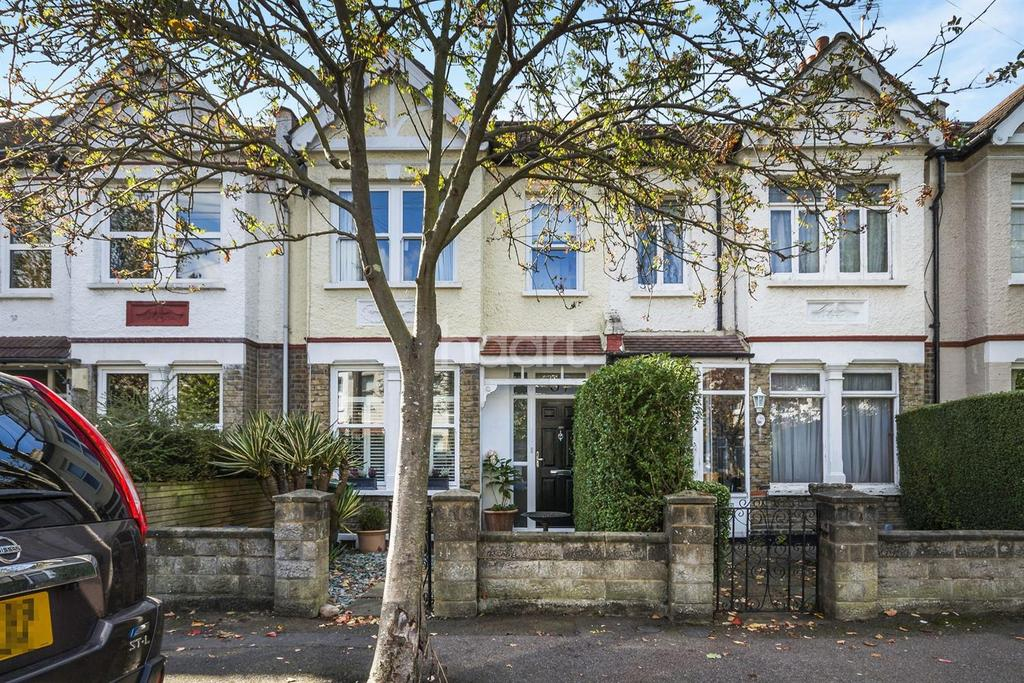 3 Bedrooms Terraced House for sale in Prince Georges Avenue, Raynes Park, London, SW20