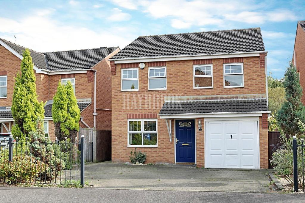 4 Bedrooms Detached House for sale in Cotterdale Gardens, Wombwell