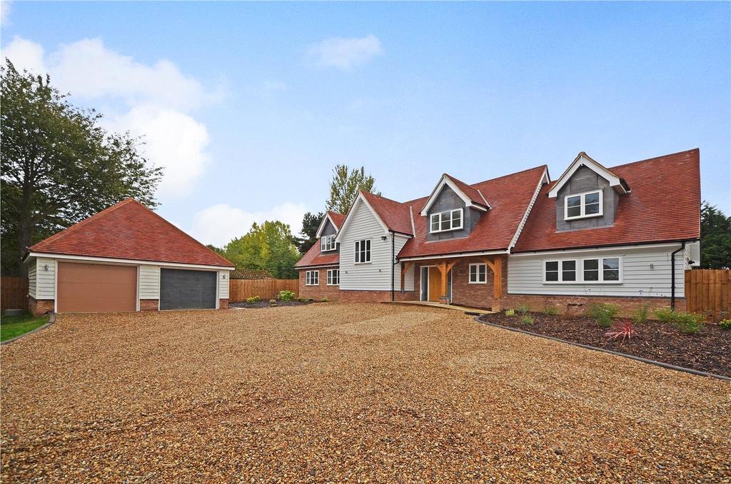 4 Bedrooms Detached House for sale in Old Mead Road, Henham, Bishop's Stortford, Hertfordshire, CM22