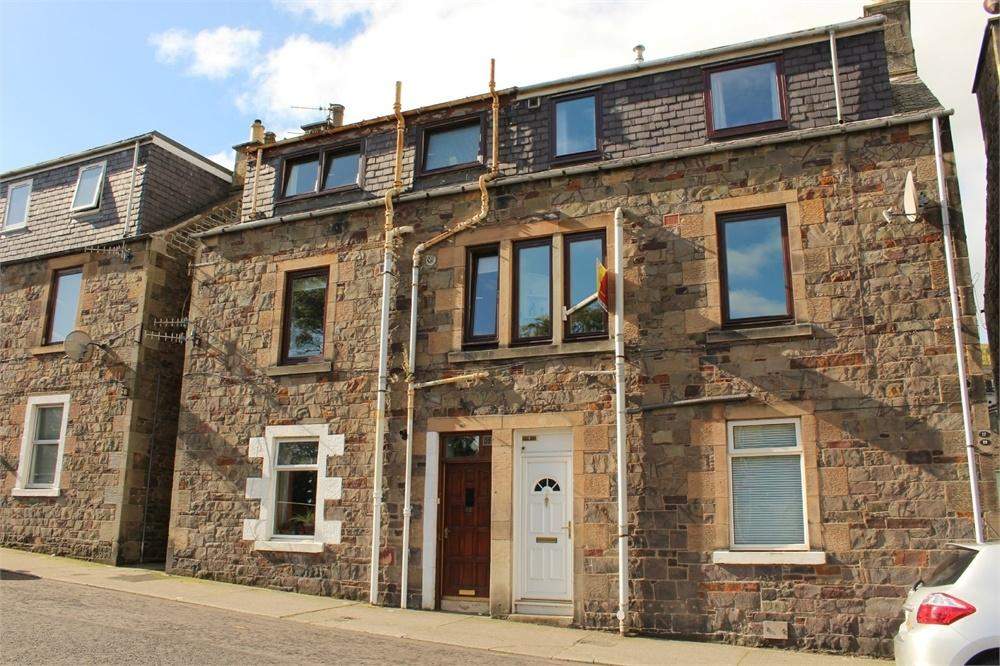 3 Bedrooms Maisonette Flat for sale in 19 Woodside Place, GALASHIELS, Scottish Borders