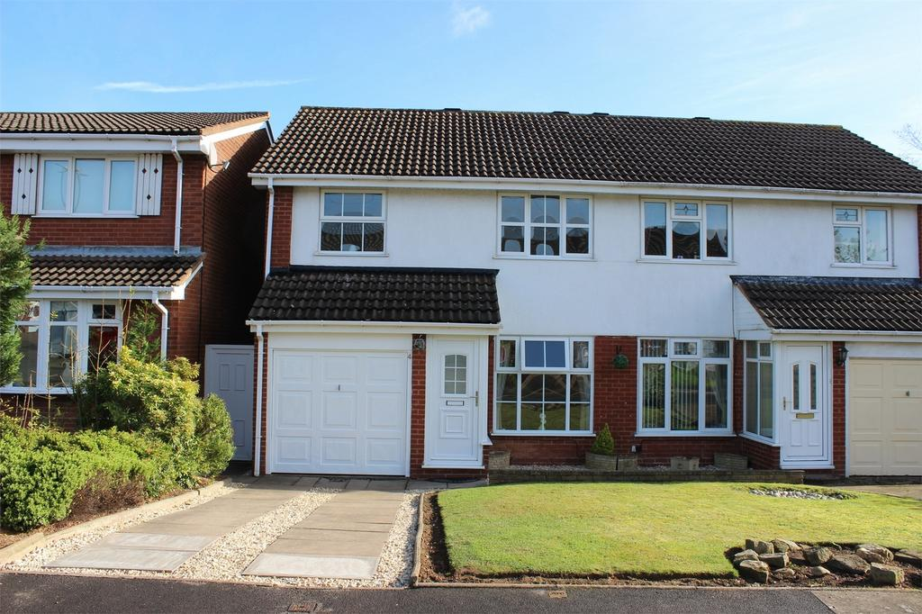 3 Bedrooms Semi Detached House for sale in Lowfield Close, HALESOWEN, West Midlands