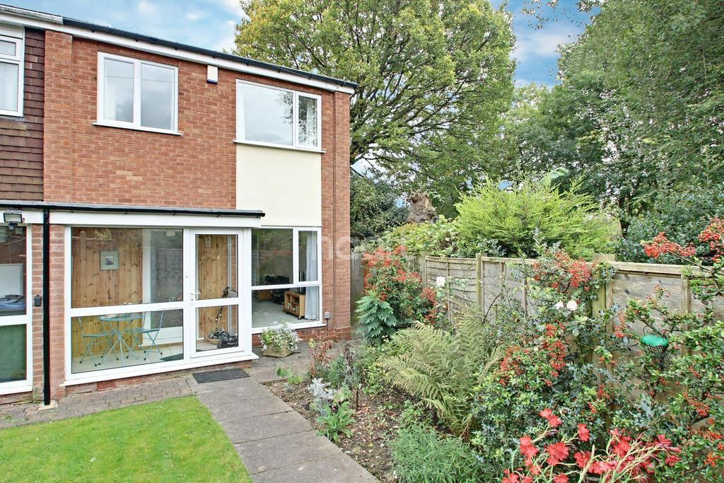 2 Bedrooms End Of Terrace House for sale in Oak Close, Harborne