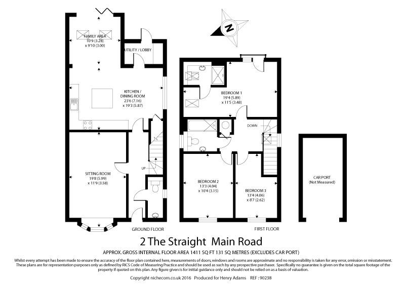 Famous straight floor plan adornment home floor plans suchcrutex the straight main road birdham po20 3 bed detached house 399950 malvernweather Gallery