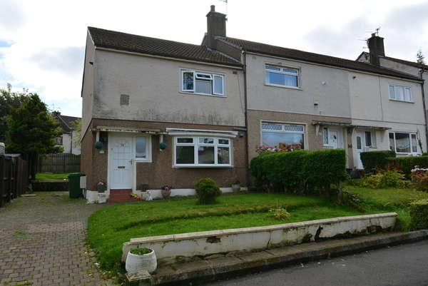 2 Bedrooms End Of Terrace House for sale in 70 Moraine Drive, Blairdardie, Glasgow, G15 6HA