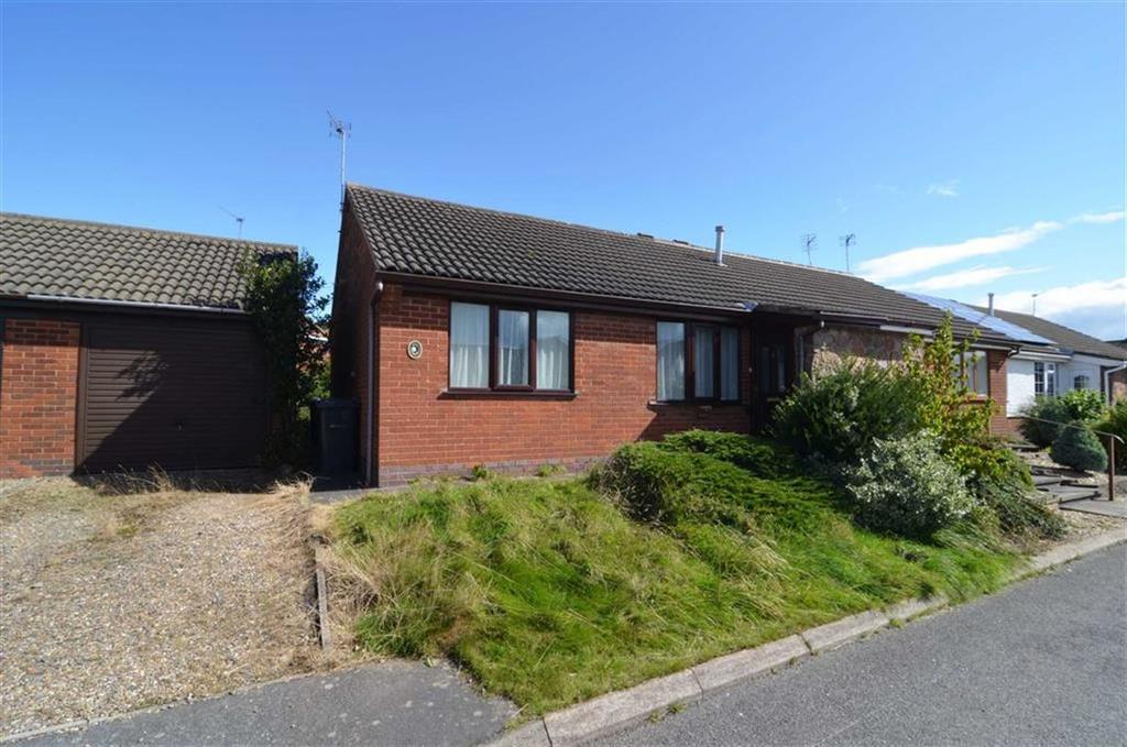 1 Bedroom Semi Detached Bungalow for sale in Warren Close, Markfield