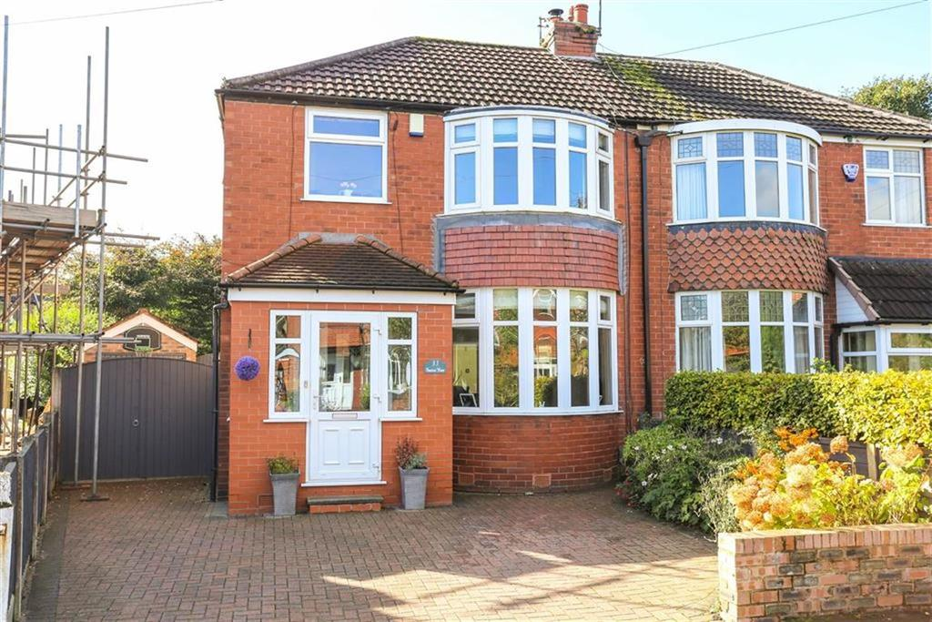4 Bedrooms Semi Detached House for sale in Marcliff Grove, Heaton Mersey