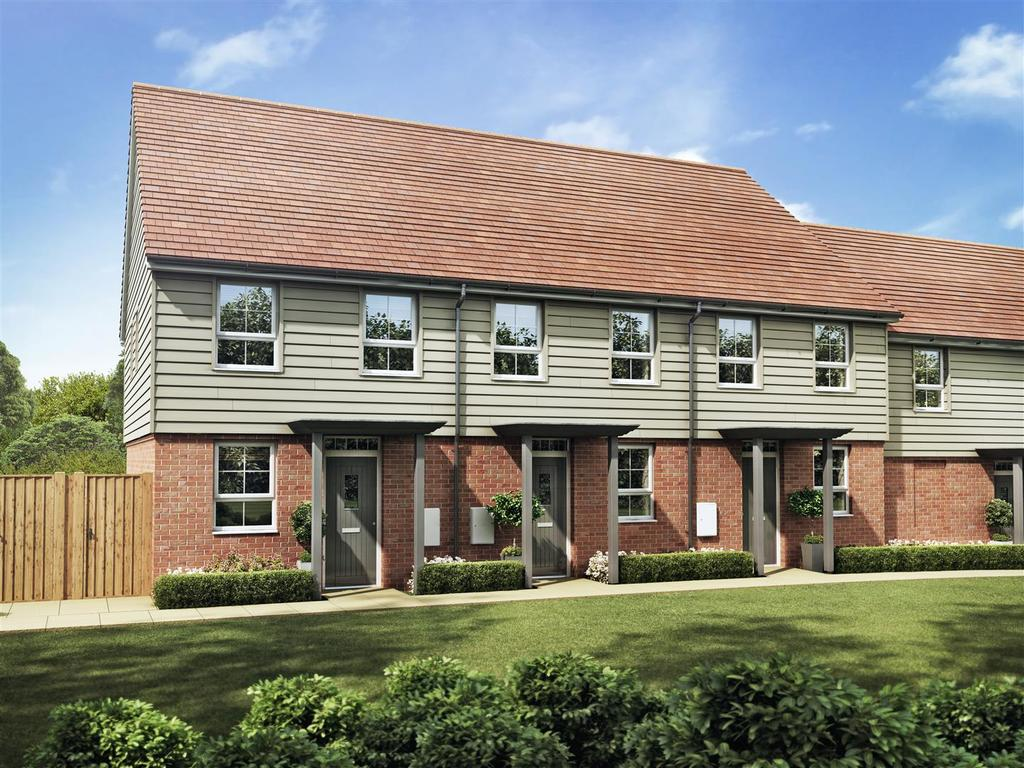 2 Bedrooms End Of Terrace House for sale in Oakhurst Place, Pebsham Lane, Bexhill