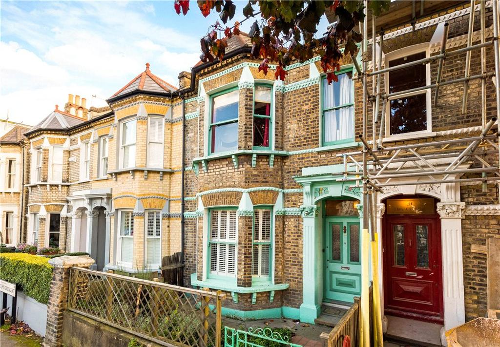 4 Bedrooms Terraced House for sale in Elms Crescent, Clapham, SW4