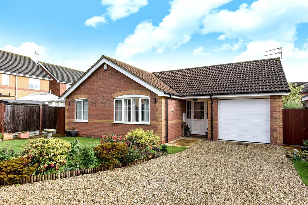 3 Bedrooms Detached Bungalow for sale in Wessex Close, Quarrington, NG34