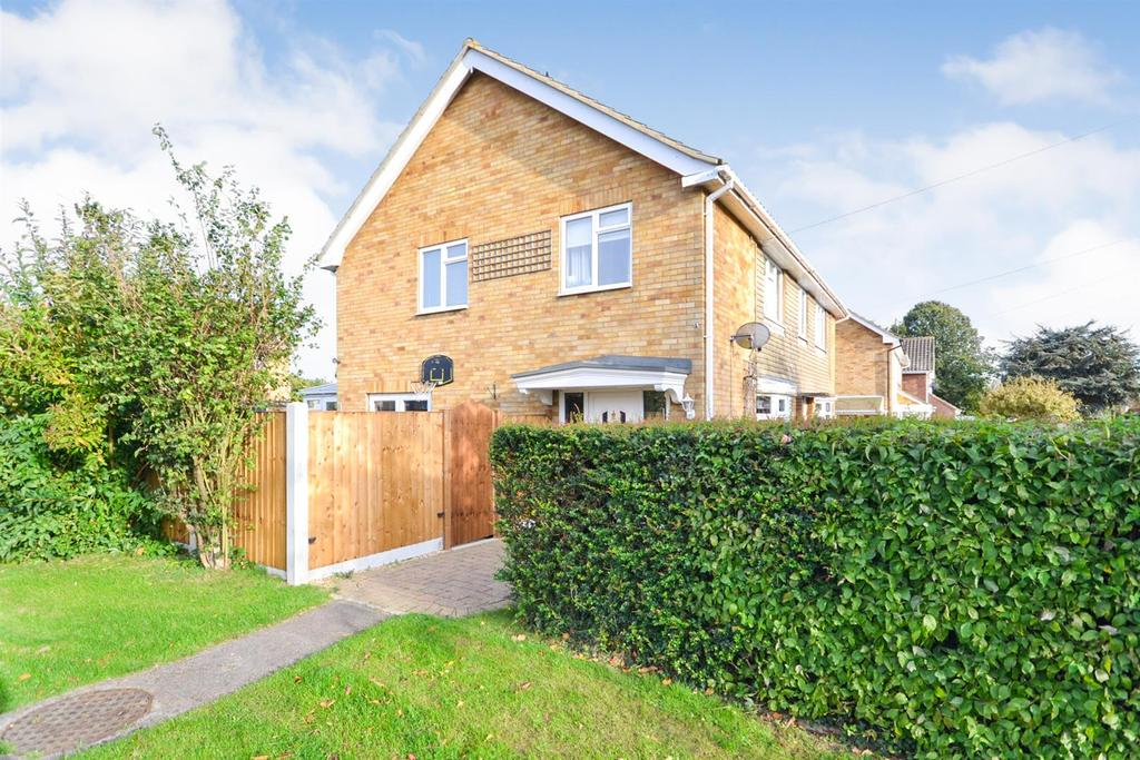 3 Bedrooms Semi Detached House for sale in Western Road, Silver End, Witham
