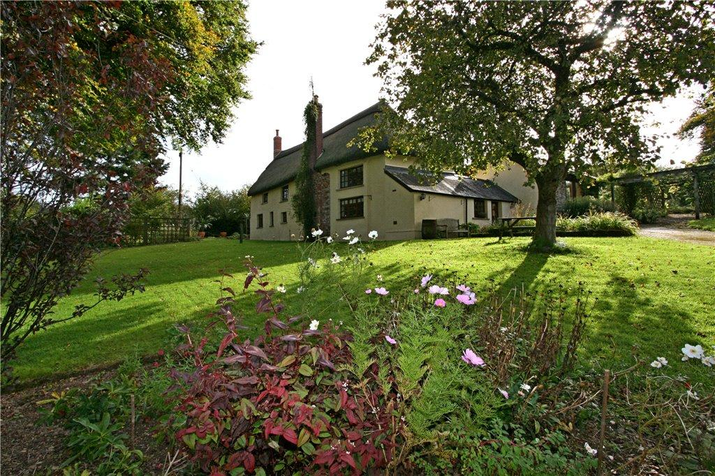3 Bedrooms Detached House for sale in West Burridge Cottage, Cheldon, Chawleigh, Devon