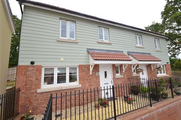 3 Bedrooms Semi Detached House for sale in Carhaix Way, Dawlish
