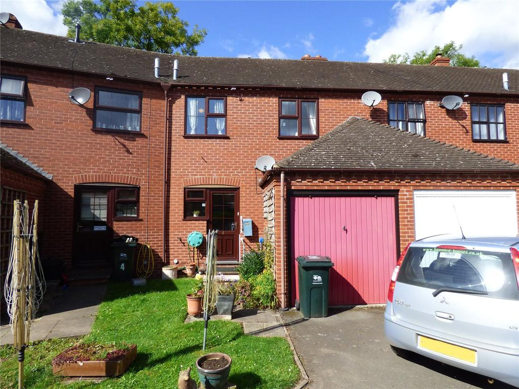4 Bedrooms Terraced House for sale in The Mews, Riverside, Tenbury Wells, Worcestershire