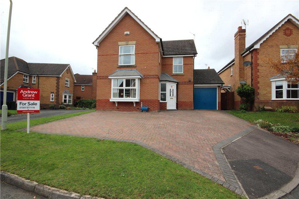 3 Bedrooms Detached House for sale in Keyse Close, Ludlow, Shropshire, SY8